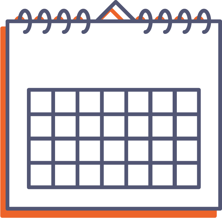 Nástěnný kalendář se spirálou online tisk