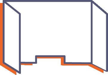 Ochranná přepážka z plexiskla bez potisku online tisk