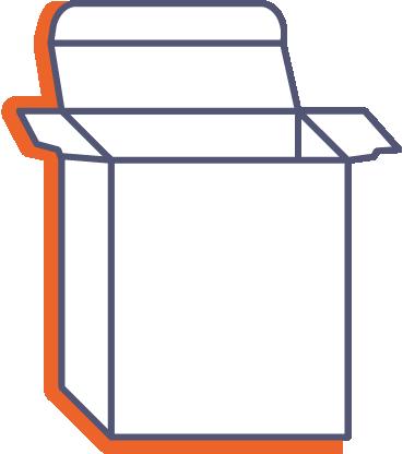 Krabice na produkty online tisk
