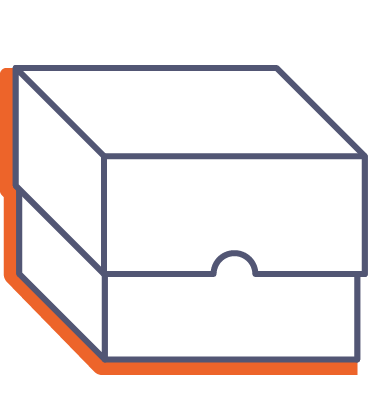 Krabice s víkem online tisk