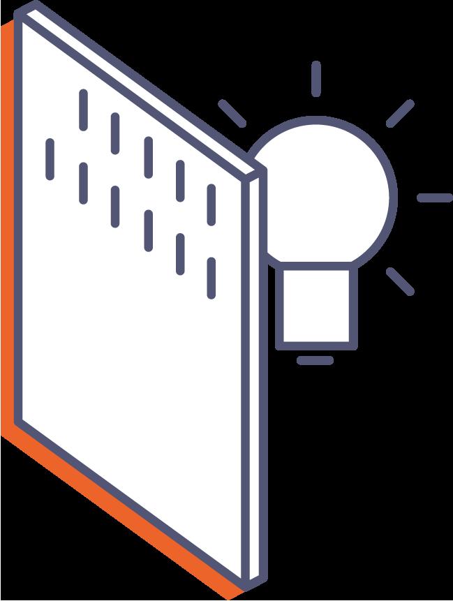 Backlight online tisk