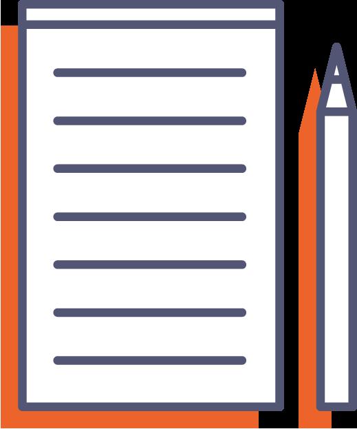 Poznámkové bloky pro číšníky - bez obalu online tisk