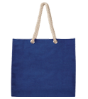 Jutová nákupní taška s pevnými uchy online tisk