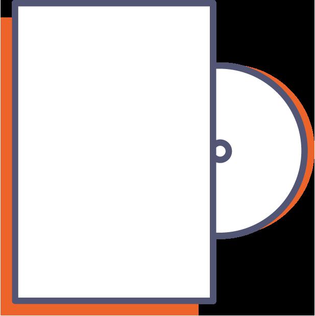 Obal na DVD online tisk