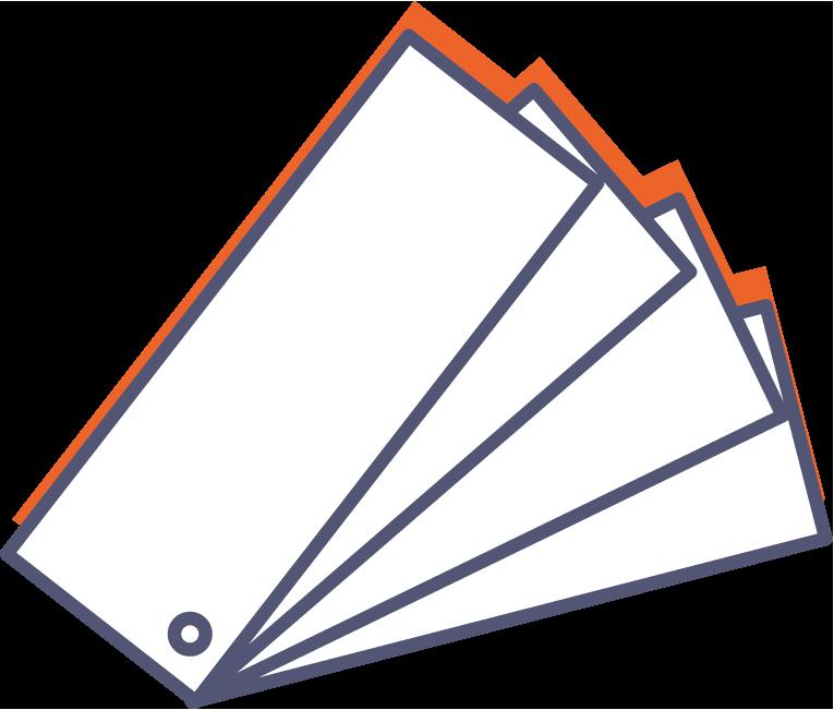 Vzorník papírů online tisk