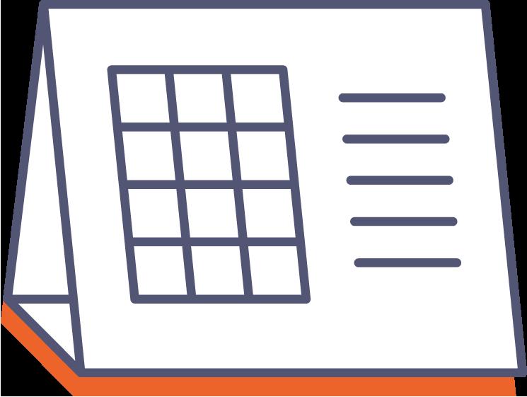 Stolní kalendář online tisk