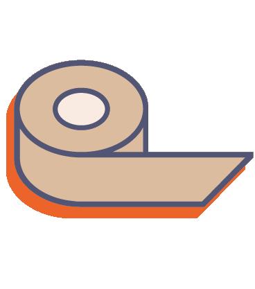 Papírová lepicí páska s potiskem online tisk